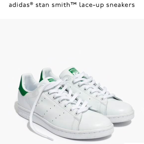 new arrivals 531dc b1fbe Adidas Stan Smith Lace-up Sneakers